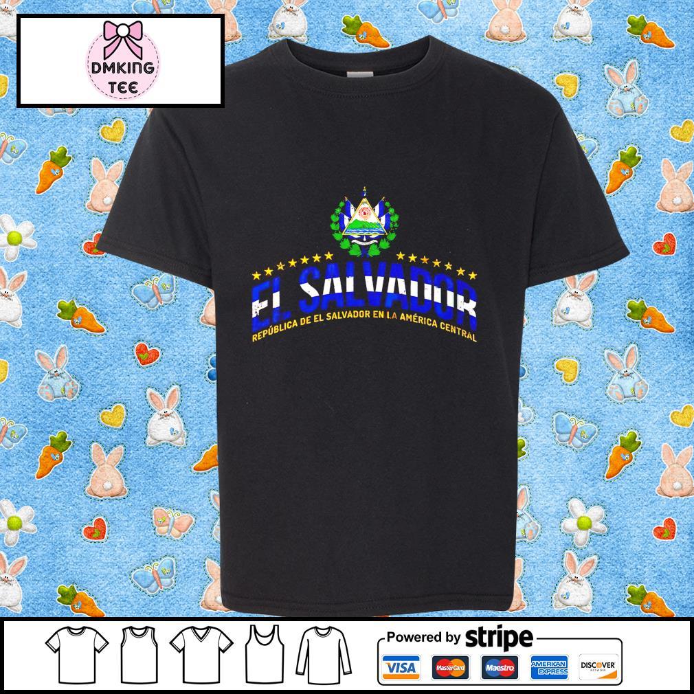 El Salvador Salvadoran Heritage National shirt