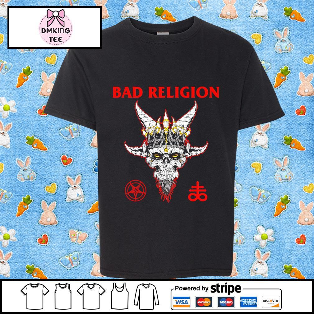 Bad Religion Santa shirt