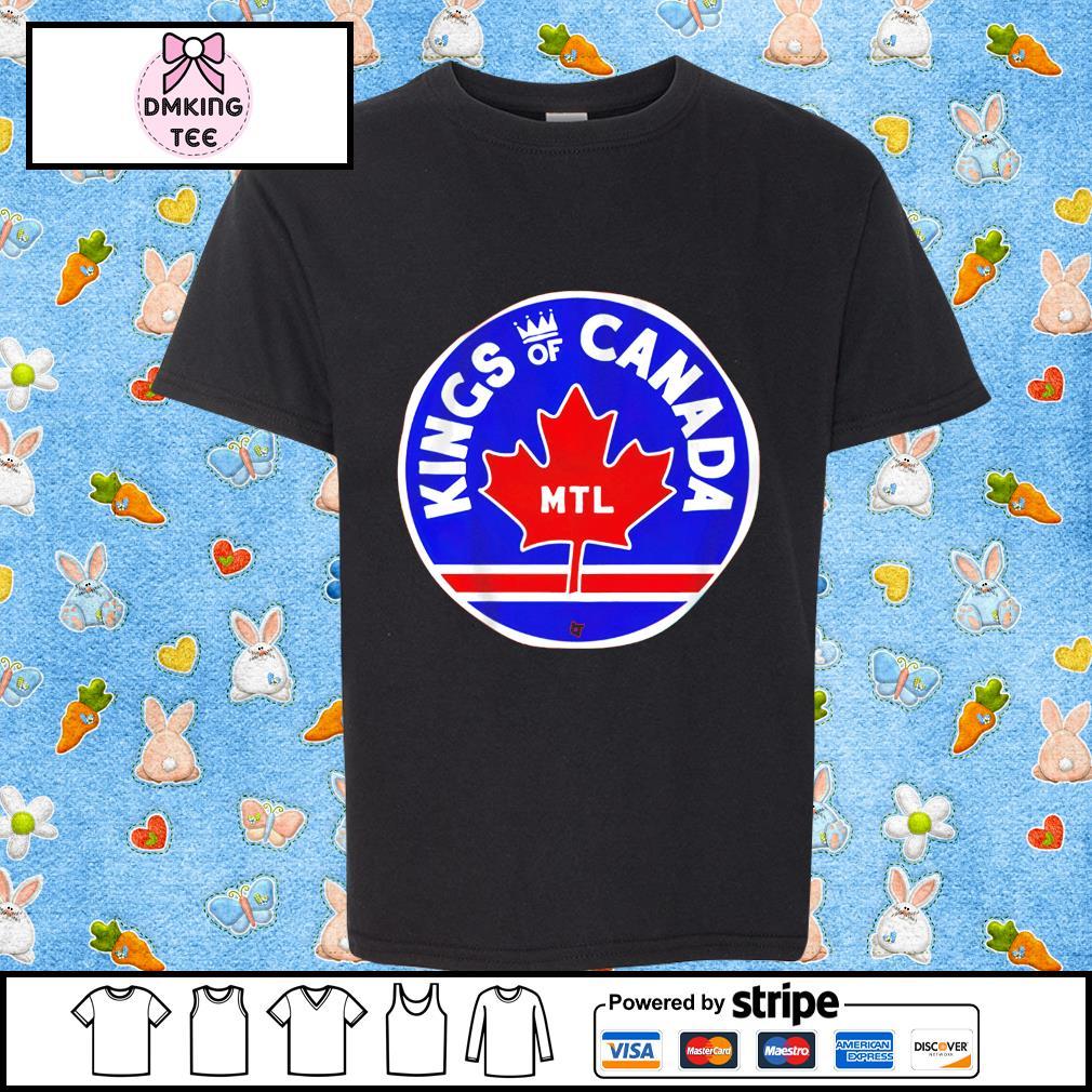 Kings of Canada MTL shirt