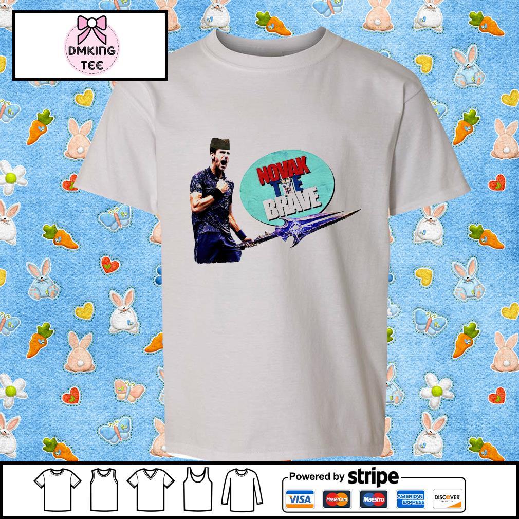 Novak Djokovic The Brave Good Quality Cotton shirt