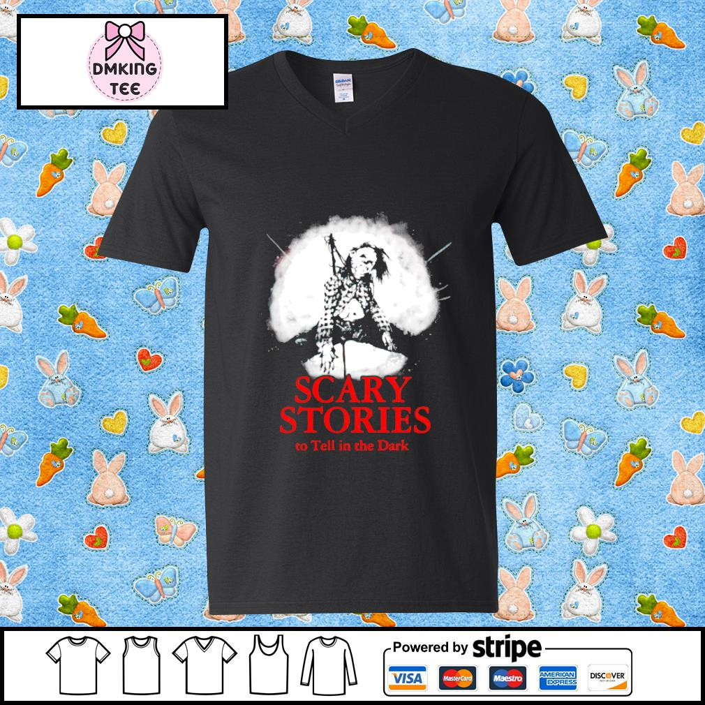Scary Stories To Tell In The Dark Guy v-neck t-shirt