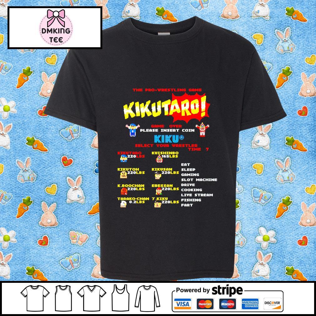 The Pro Wrestling game Kikutaro t-shirt