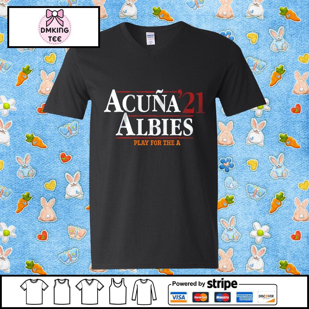 Acuña Albies 2021 Guy v-neck t-shirt