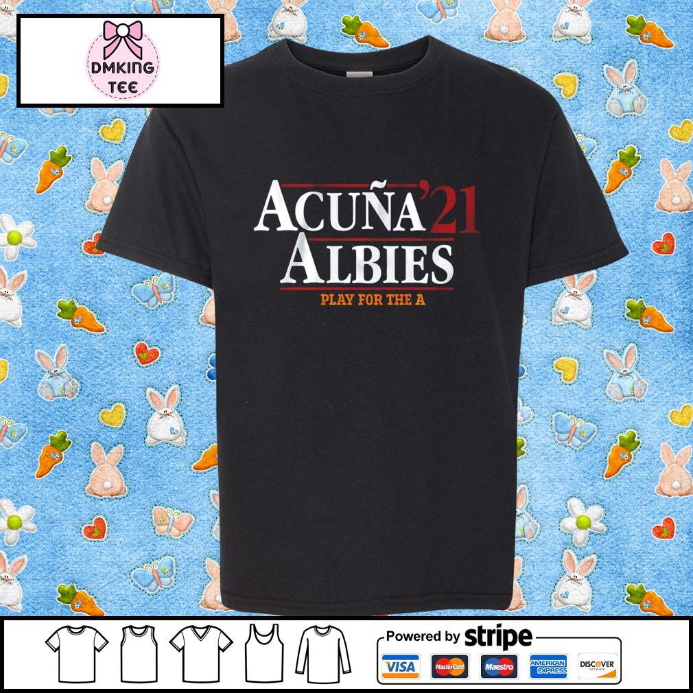 Acuña Albies 2021 shirt