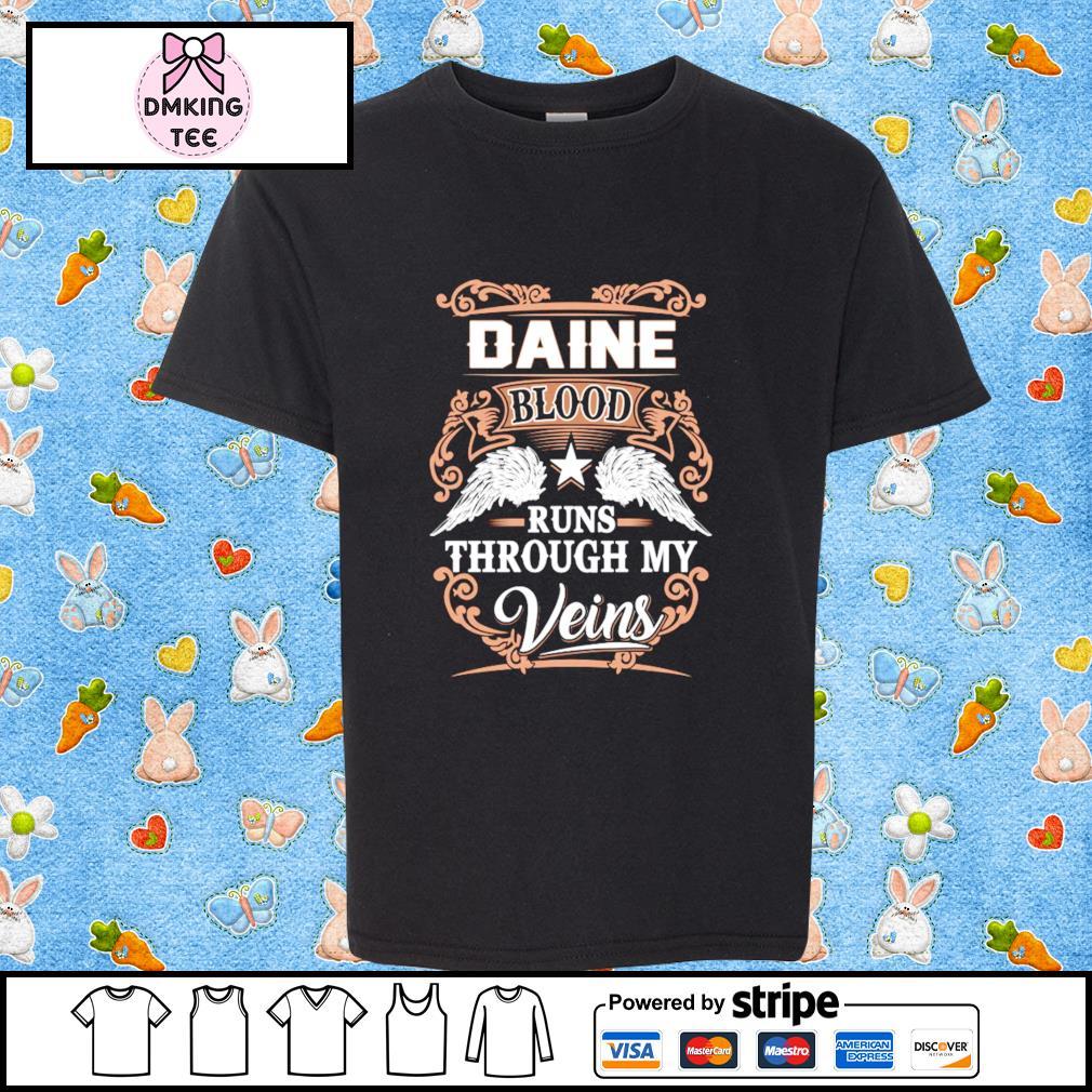 Diane blood runs through my Veins shirt