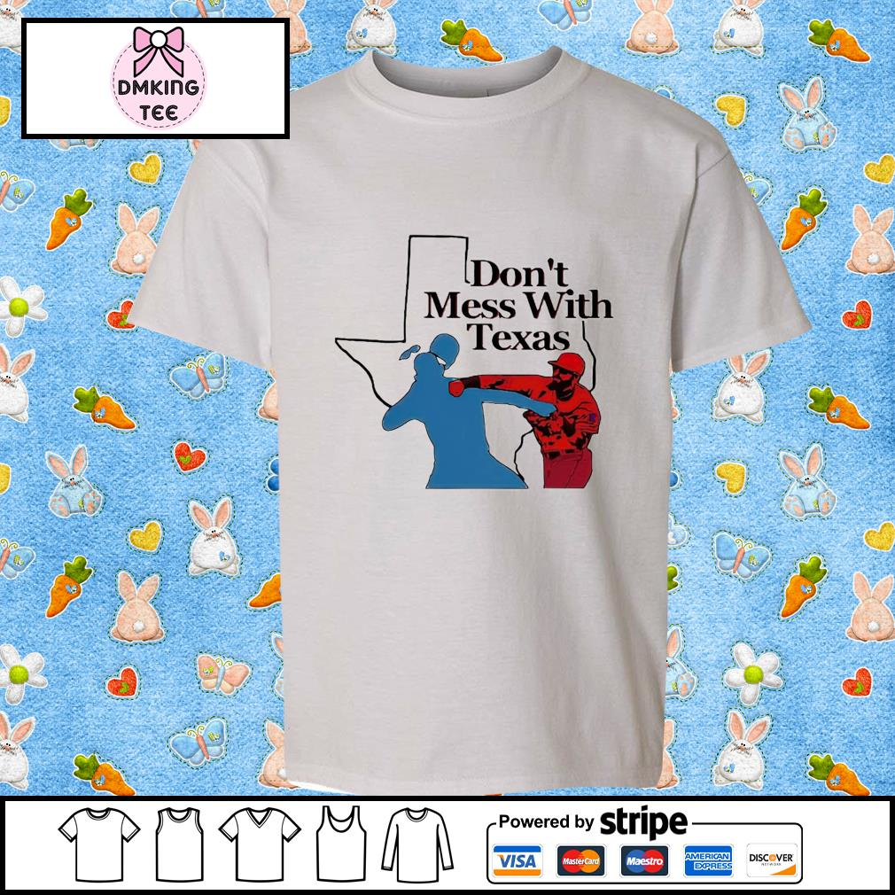 Don't mess with Texas toddler shirt