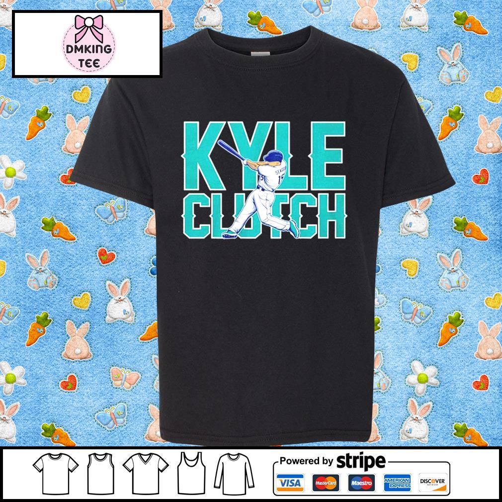 Kyle Clutch baseball shirt